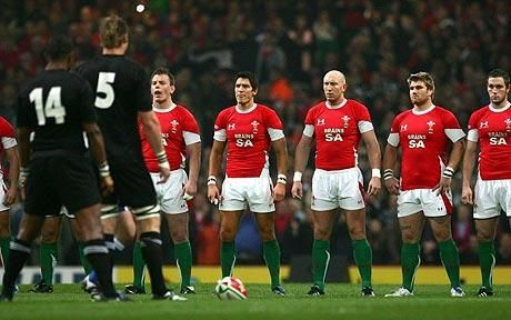 Stand up and be counted . . . will remember watching this moment on TV forever and it makes me so proud to be Welsh xx
