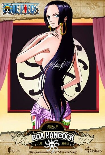 One piece  Boa hankok