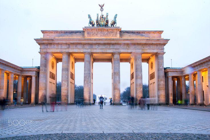 Brandenburg Gate - Long exposure shot of Brandenburg Gate in Berlin. Follow me on INSTAGRAM (https://instagram.com/giorgos.zondi/) Follow me on FB (https://www.facebook.com/giorgos.zondi)