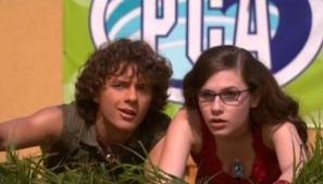 Quinn and Logan - Zoey 101.. Loved this show ! Used to hav a  massive crush on Logan