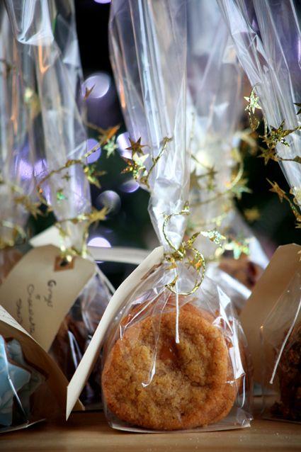 edible christmas gifts Fudge Cookies