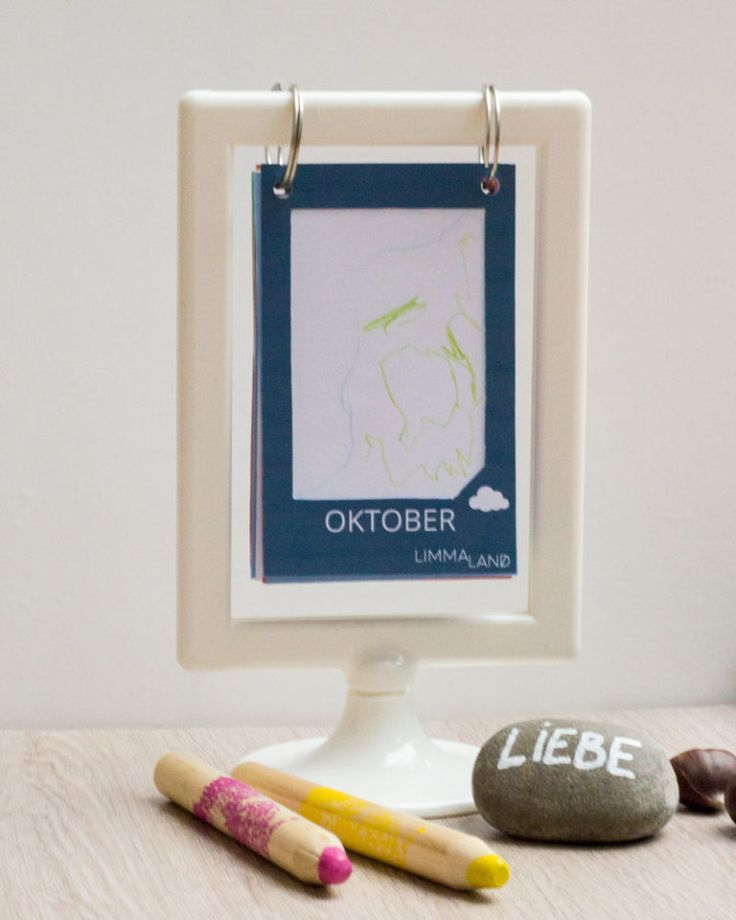 Ikea Kalender Basteln Mit Tolsby Rahmen Www Limmaland Com Basteln Ikea Kalender Mit Kalender Selber Basteln Kalender Basteln Weihnachtsgeschenke Basteln