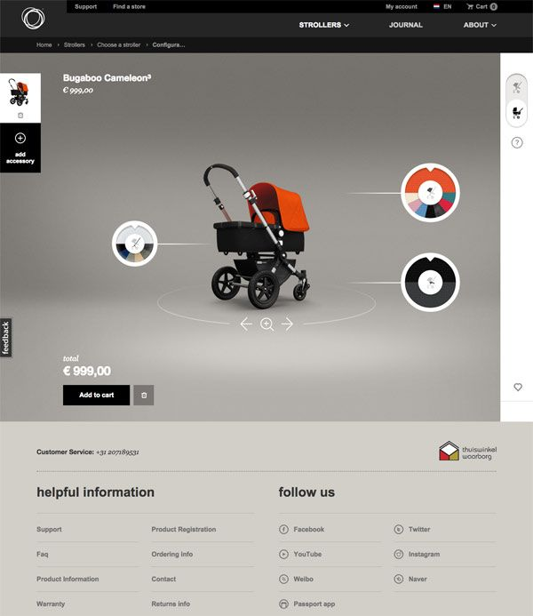 One of the most inspiring and user friendly product configurators I have seen on the web so far. Founder Max Barenburg graduated from the design ...