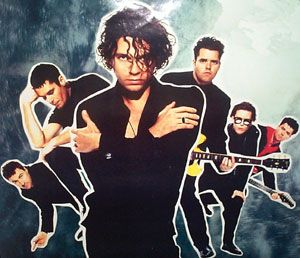 Michael Hutchence - INXS...gone too soon... Saw them on this tour in Frankfurt Germany in 1990 before heading off to Desert Storm.
