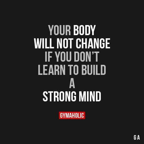 As you work on your New Years goals towards better health and wellness don't forget to work on your mind as well. What we allow ourselves to think will control our actions. A strong mind will lead to a strong body...and strong results. #newyear #resolutions #goals #mind #strong #health #wellness #nutrition #exercise #results #ahealthierlifestyle