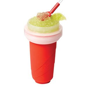Aussie Ice Slushy Maker - ours is not this brand but works the same. Yummy slushy OJ for breakfast!