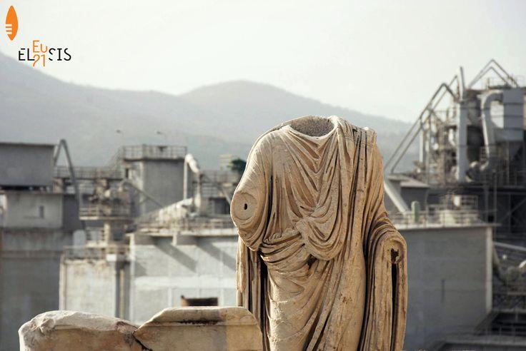 #Eleusis2021 #EUphoria #ECoC2021 #Eleusis #Elefsina #Ελευσίνα #archaeological #industrial © Euphemia Ganiari