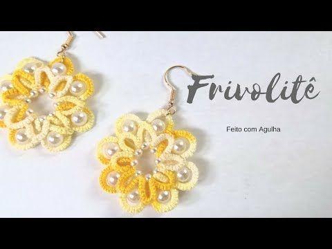 Frivolitê - Vídeo Aula - YouTube