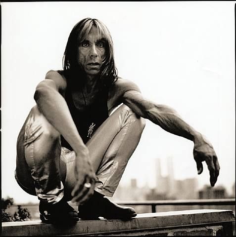 Iggy Pop by Anton Corbijn