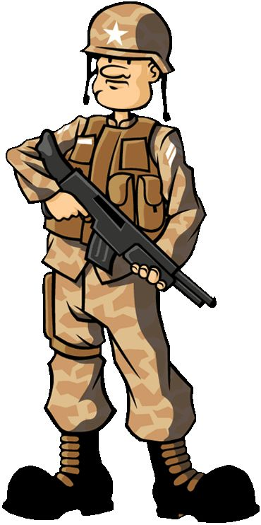 Soldier from iOS title #MyArmy