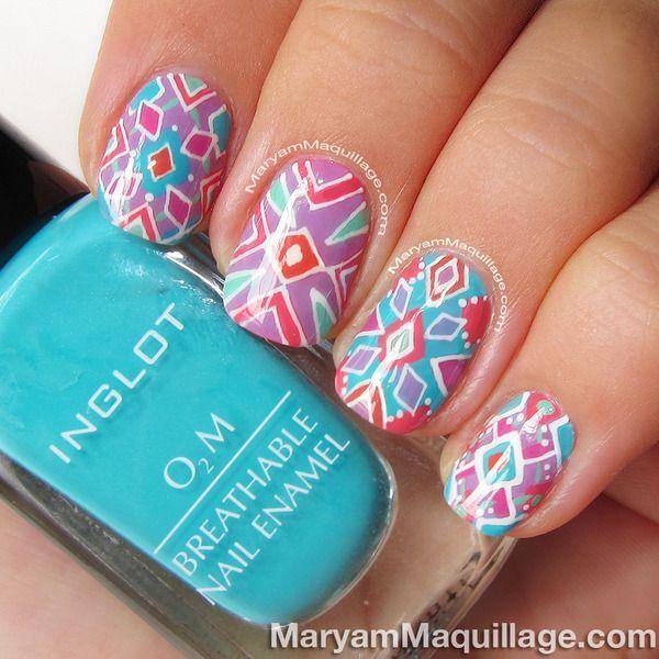 Hand-Painted Summer Kaleidoscope