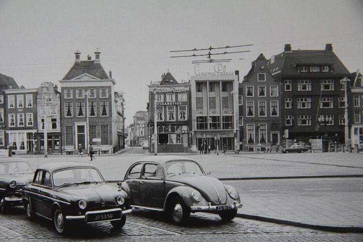 De Grote Markt tijdens de strenge winter van 1964 - Foto's SERC