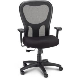 tempurpedic polyester computer and desk office chair black