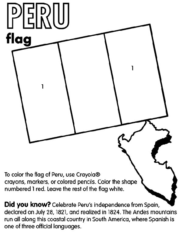 Coloring Sheets For Spanish Class : 37 best flaggor images on pinterest