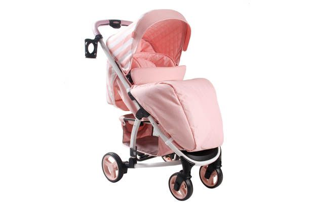 My Babiie Billie Faiers MB100 Pink Stripe Pushchair: Designed by celebrity mum Billie Faiers the My MB100… #UKShopping #OnlineShopping