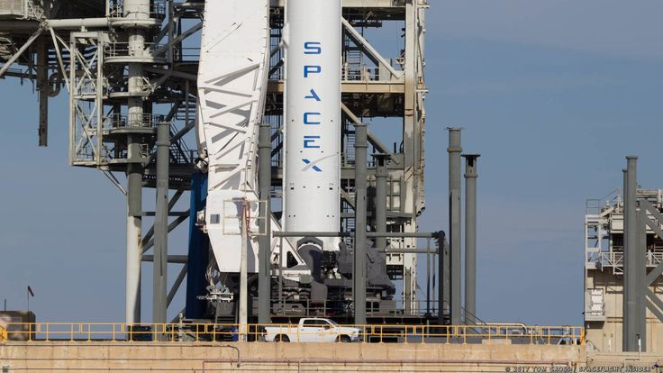 Scrubbed for a second time. SpaceX's Falcon 9 rocket remained firmly on the ground July 3 as weather conditions in the area prevented a liftoff in the 58-minute window. The company will try again July 4. Photo Credit: Tom Cross / SpaceFlight Insider