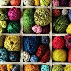 Yarn isn't just for knitting and crocheting. You can do so many beautiful and fun things with it.