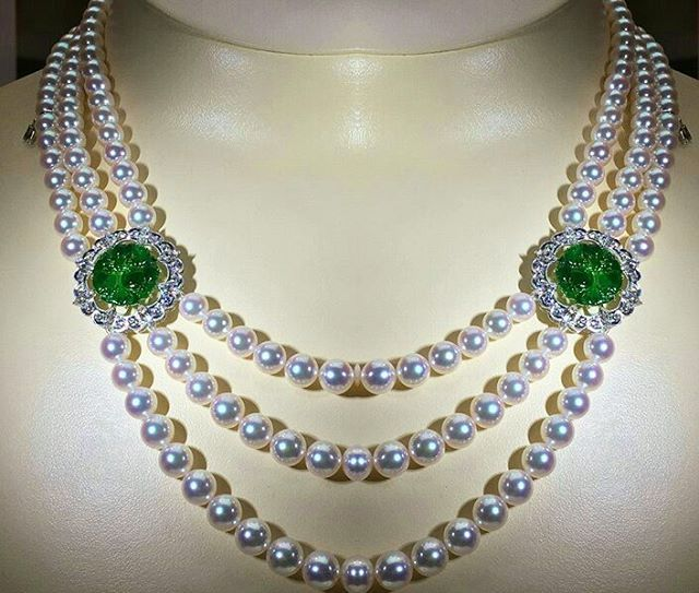 Mikimoto Pearls Necklace: ☆YOKO LONDON☆ Images On Pinterest