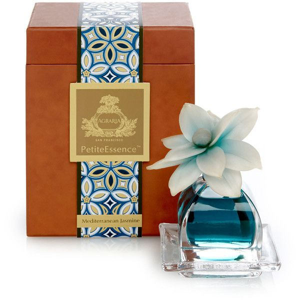 Agraria Mediterranean Jasmine PetitEssence Diffuser ($58) ❤ liked on Polyvore featuring beauty products, fragrance, agraria fragrance, flower fragrance, flower perfume, agraria and blossom perfume