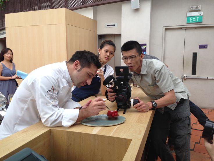 Behind the scene #CacaoBarry #Creativeday #PurityAsia #Purityfromnature @andreslpollen #chocolate