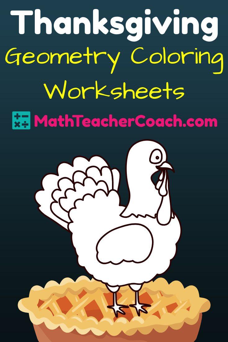 Free Thanksgiving Worksheet For Geometry Geometrycoach Com Thanksgiving Geometry Thanksgiving Math Activities Thanksgiving Worksheets [ 1102 x 735 Pixel ]