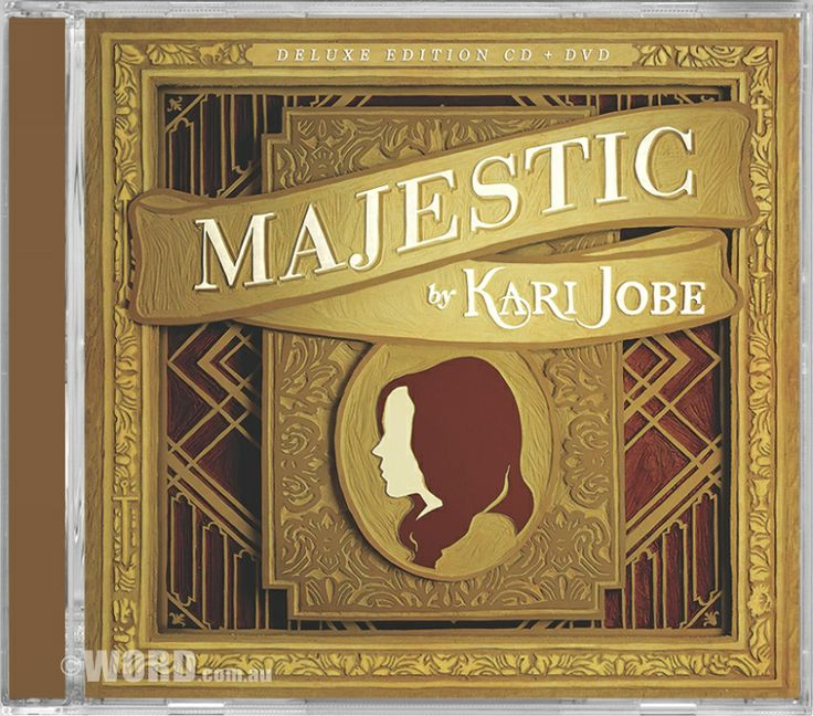 NEW! Kari Jobe  Majestic (Live) Deluxe CD & DVD For her follow up to the breakout sophomore album, Kari brings us MAJESTIC, produced by Jeremy Edwardson (Jesus Culture, Kim Walker-Smith, Bethel Church). Captured live in Kari's hometown of Dallas, Texas at the historic Majestic Theater, the aptly titled MAJESTIC, embodies the essence of what Kari does so giftedly and gracefully – lead us into worship of our Savior.