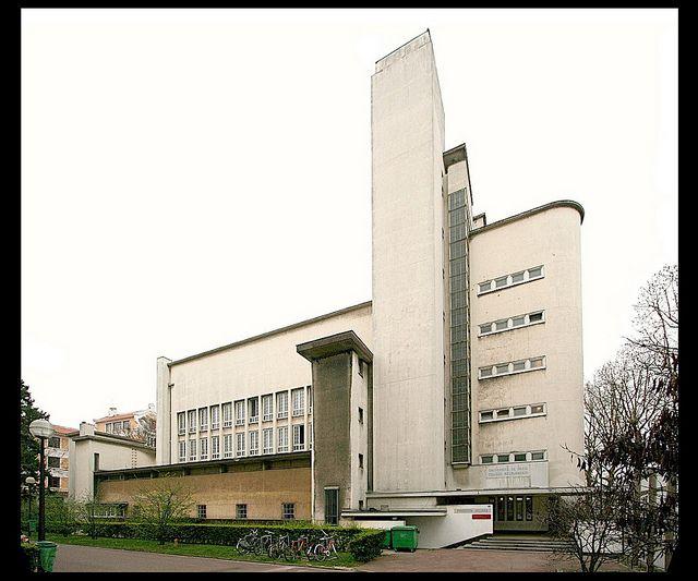 Dudok, Collège Néerlandais (cité universitaire internationale de Paris) [1938]- Paris XIV, via Flickr.