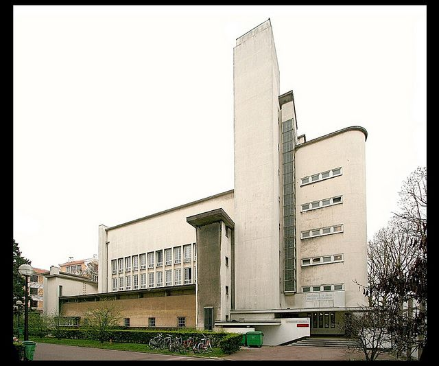 Dudok, Collège Néerlandais (cité universitaire internationale de Paris) [1938]- Paris XIV, via Flickr.