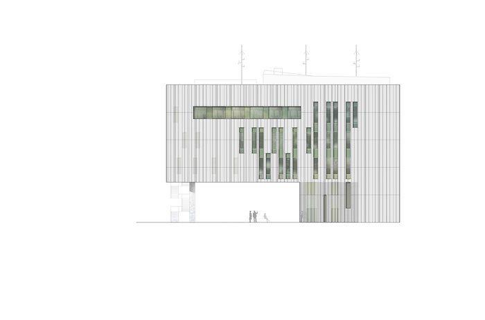 Fassade by Moradelli GmbH harder stumpfl schramm: Leitstelle Karlsruhe