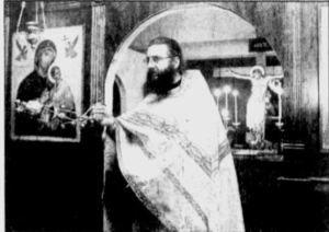 Hieromonk Chrysostomos Filotheitis censing