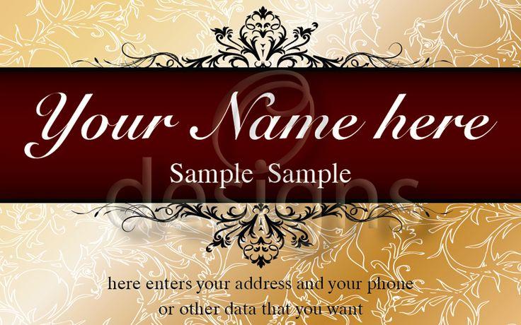 Digital Business Calling Card Elegance Template No 8