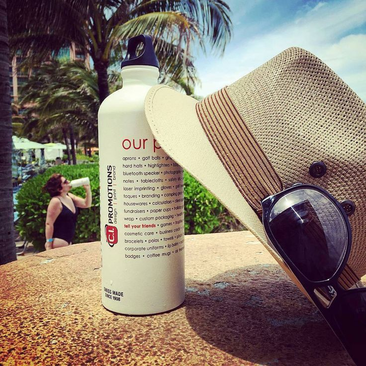 Thanks for the share @ci_promotions! SIGG bottles are great no matter the location :) Enjoy the sun!  #SIGG #customSIGGbottles #SIGGbottles #waterbottles #hydration #fitlife #healthy #travel