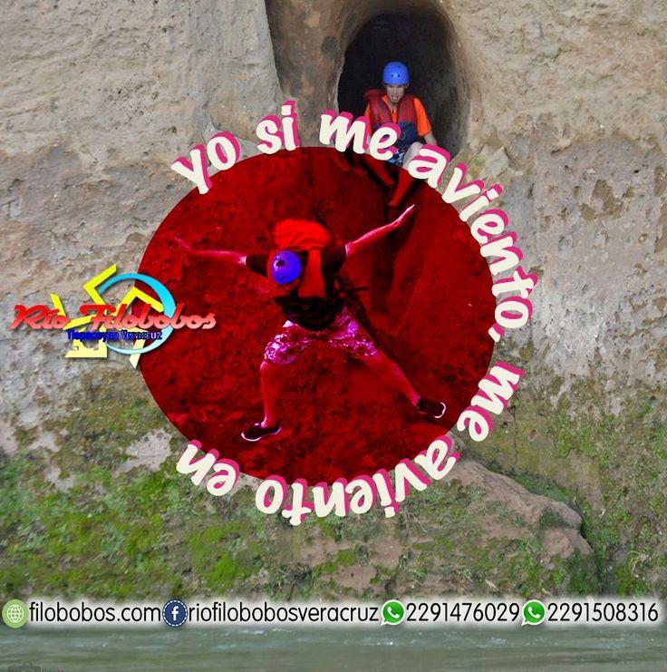 Yo si me aviento, me aviento en #rioFilobobos #Veracruz http://www.filobobos.com https://www.facebook.com/RioFilobobosVeracruz/