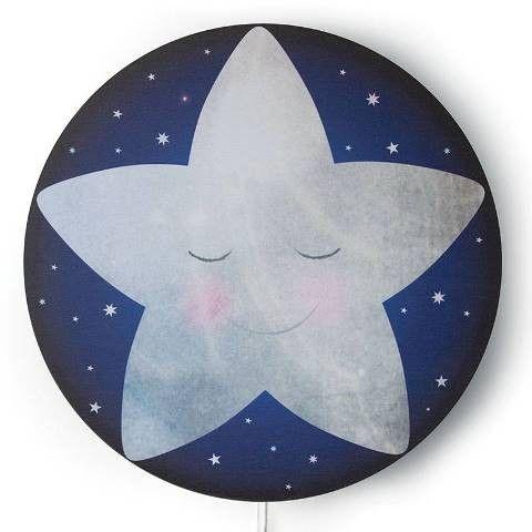 Hartendief Wandlamp wonderlamp Slaap zacht kleine ster