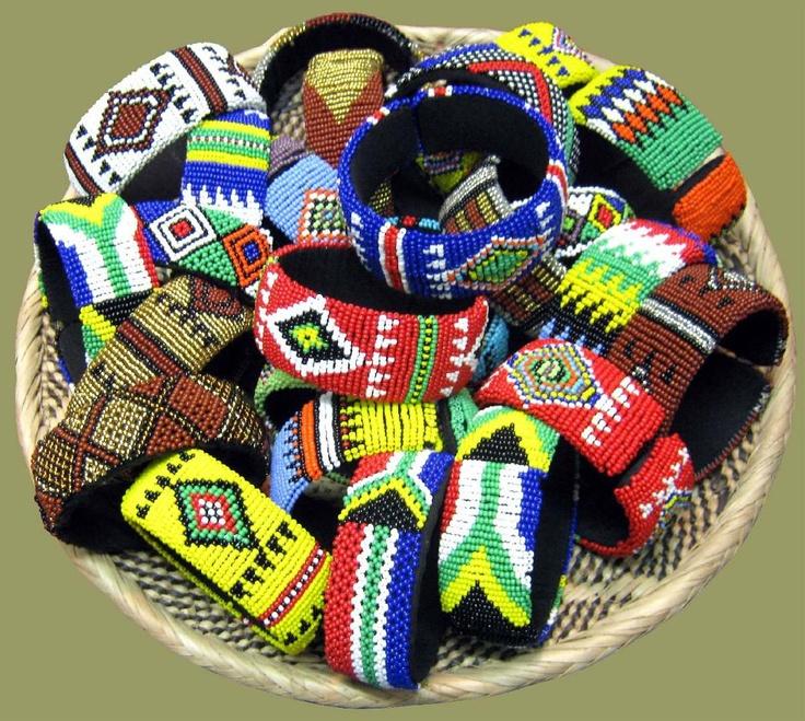 African beading