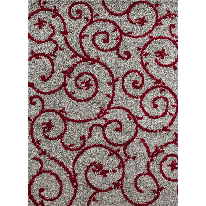 World Rug Gallery Florida Red Gray Area Reviews Wayfair