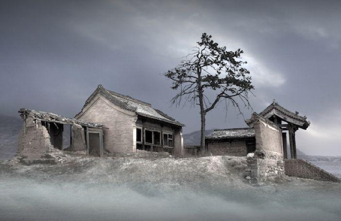 Chinese fotograaf legt verlaten dorpen vast voor ze in de vergetelheid raken