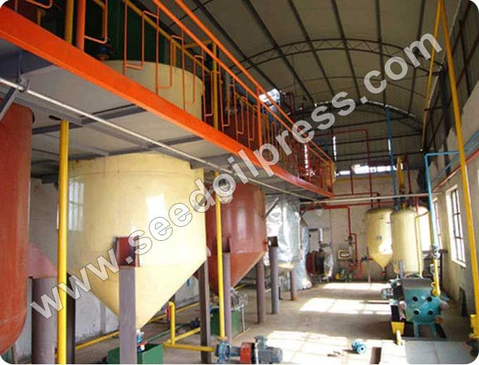 20T/D Edible Oil Refinery Plant. Crude Edible Oil Processing