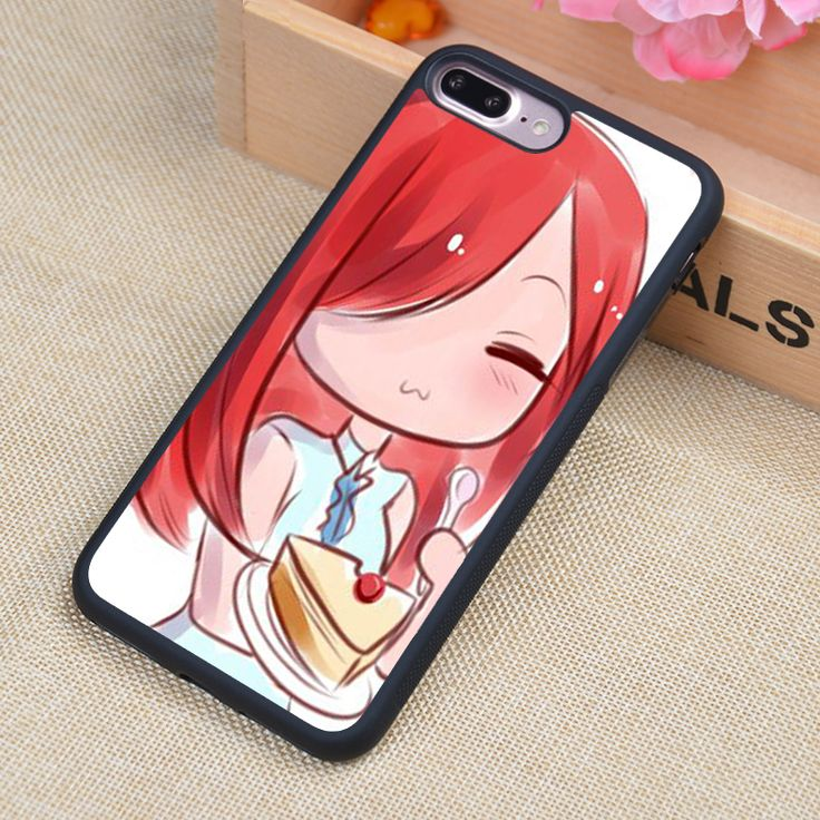 Fairy Tail Anime Manga Printed Soft Rubber Mobile Phone Cases For iPhone 6 6S Plus 7 7 Plus 5 5S 5C SE 4 4S Cover Skin Shell
