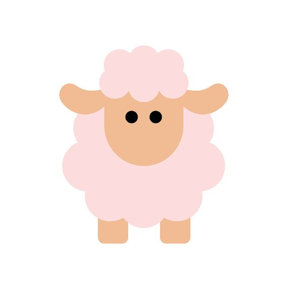 Sheep Applique PDF Pattern by JustPickingDaisies on Etsy, $4.00