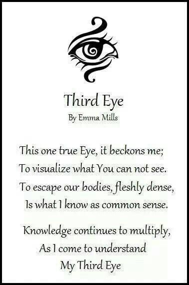 Open the channel to spiritual realms beyond what the physical eye can see.