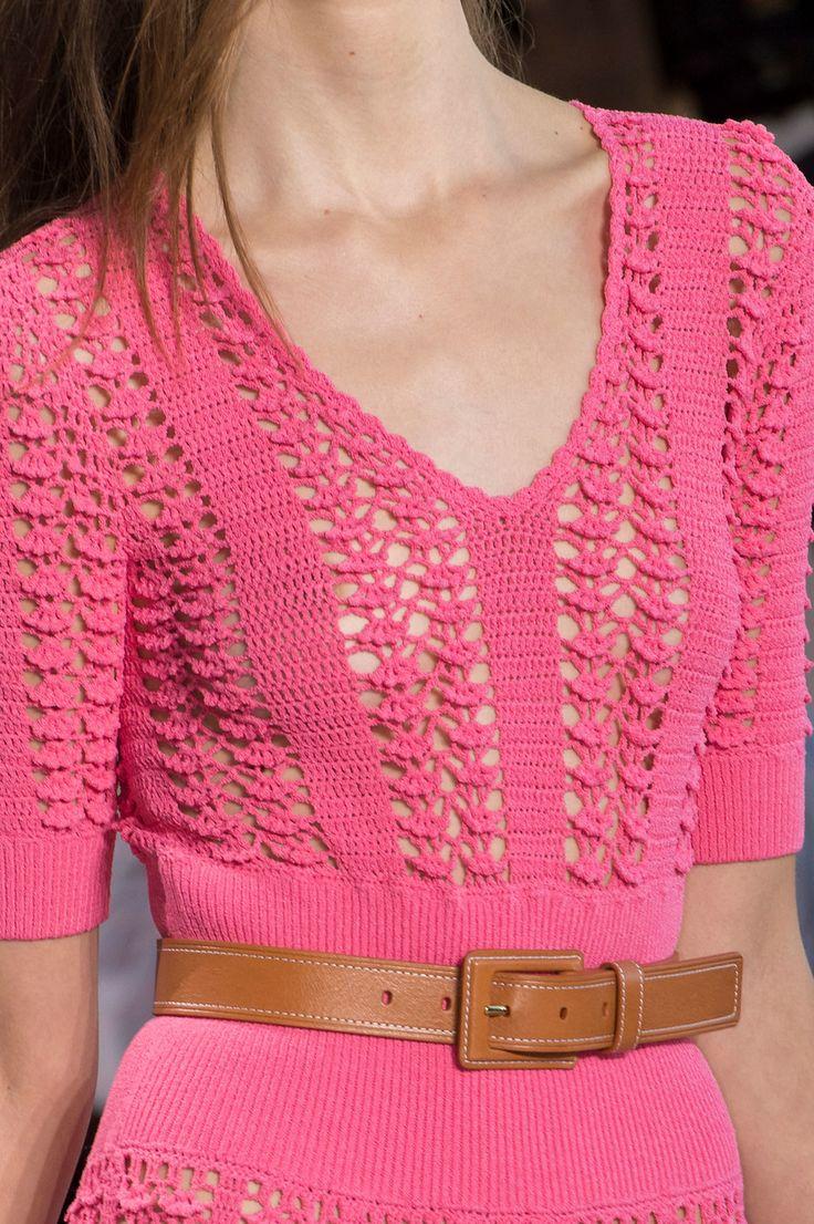 Michael Kors at New York Spring 2017 (Details) - Crochet Dress