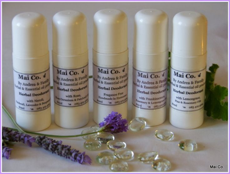 Mai Co.'s full range of deodorants for men and women....and for the very sensitive...fragrance free! Made from Ale Ferox and Xanthum - they will keep you feeling and smelling fresh throughout the day...