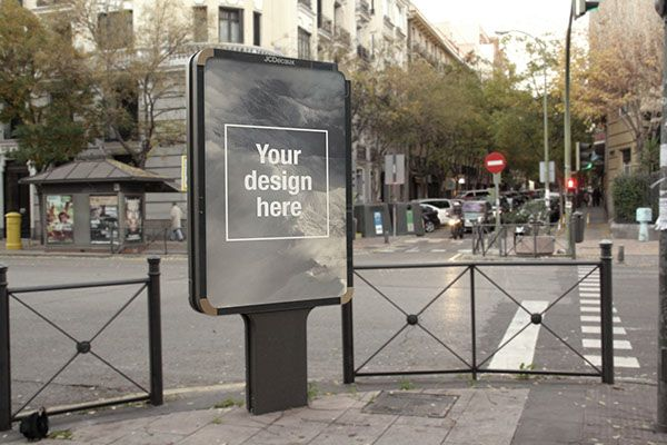 FREE Outdoor Advertising PSD Mockup on Behance