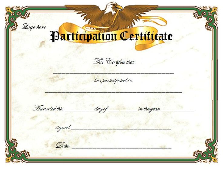 8 best Mary Kay Certificates images on Pinterest Award - certificate of participation free template