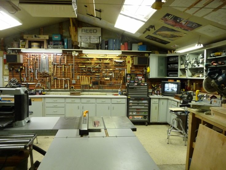 Reed's Woodshop - Shop Tours - Fine Woodworking ...