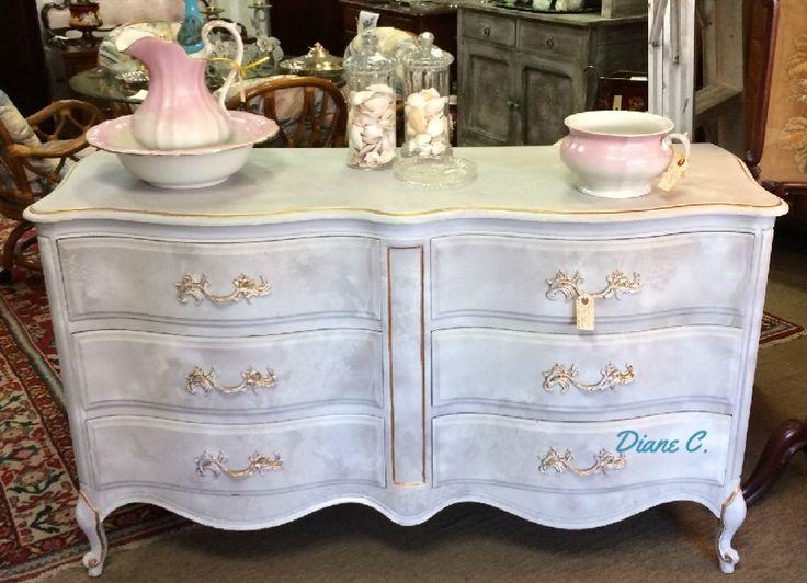 Beautiful Vintage French Dresser