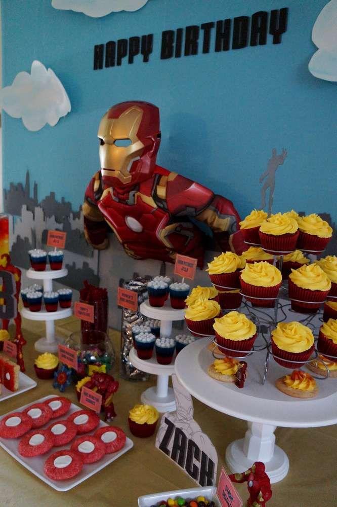 Avengers Iron Man Birthday Party Ideas