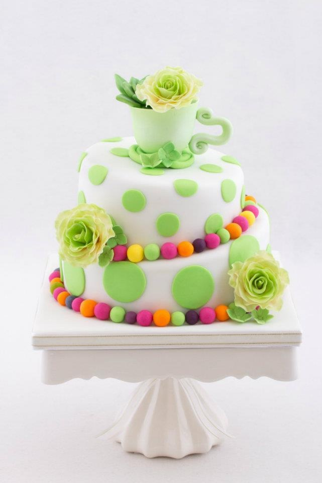Mad Hatter bridal shower cake 26 best