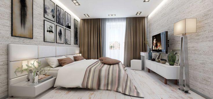 Спальня для семейной пары - Галерея 3ddd.ru